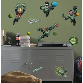 Green Lantern Peel and Stick Wall Decals