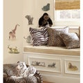 Safari Peel and Stick Wall Decals