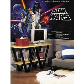 Star Wars Classic Chair Rail Pre-pasted Mural (6'x10.5')