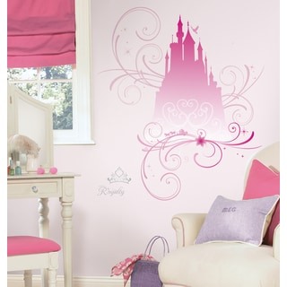 Disney Princess Scroll Castle Peel and Stick Giant Wall Decals