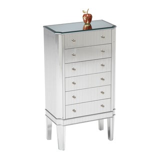 Mirrored Jewelry Accent Chest