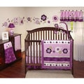 NoJo Pretty in Purple 16-piece Crib Bedding Set