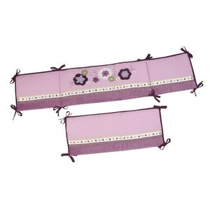NoJo Pretty in Purple Traditional Padded Bumper