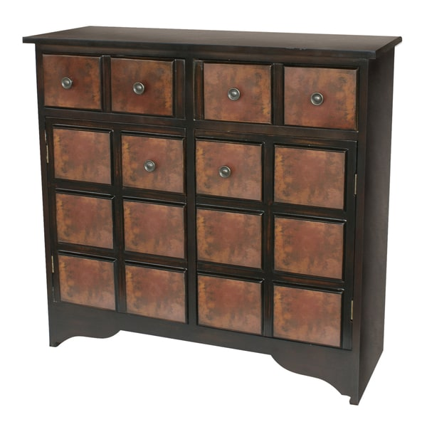 Hand Rubbed Walnut Finish Accent Chest