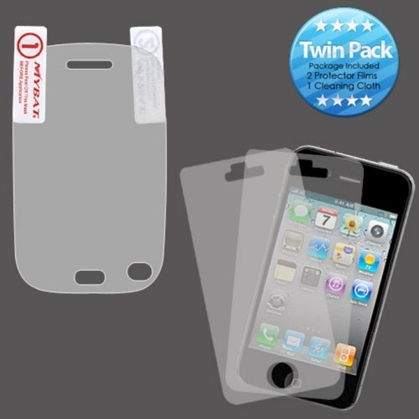 INSTEN Clear Screen Protector Film Twin Pack for Hewlett-Packard Veer 4G
