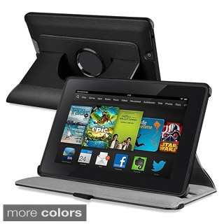 BasAcc Swivel Stand Leather Case for Amazon Kindle Fire HD 7-inch
