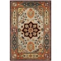 Safavieh Handmade Persian Legend Red/ Rust Wool Rug (2' x 3')