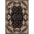 Safavieh Handmade Persian Court Multicolored Wool/ Silk Rug (4' x 6')