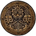 Safavieh Handmade Imperial Multicolored Wool Rug (4' Round)