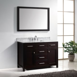 41 50 inches bathroom vanities overstock shopping - 50 inch double sink bathroom vanity ...