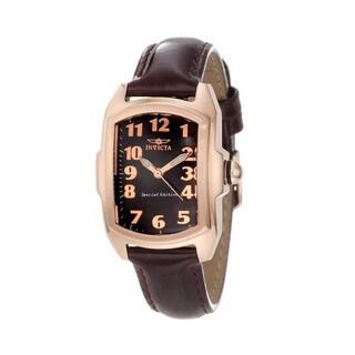 Invicta Women's BM IN12633 Slightly Blemished 'Lupah' Quartz Leather Watch Set