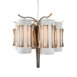 Varaluz Occasion 6-light Zen Gold Chandelier