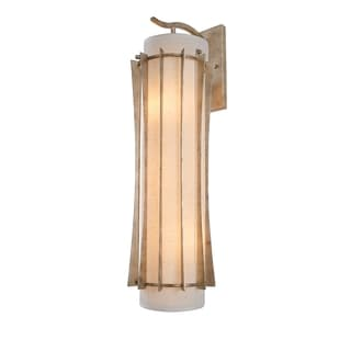 Varaluz Occasion 3-light Zen Gold Sconce