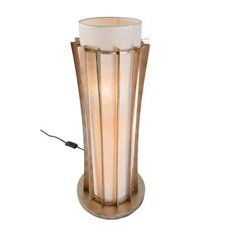 Varaluz Occasion 3-light Zen Gold Table Lamp