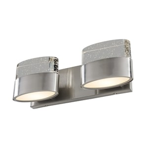 Varaluz Pop 2-light Satin Nickel Vanity