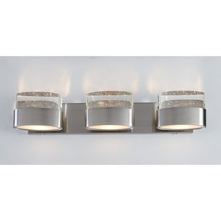 Varaluz Pop 3-light Satin Nickel Vanity