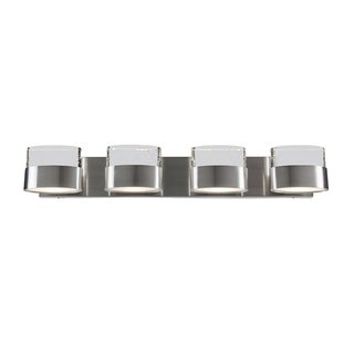 Varaluz Pop 4-light Satin Nickel Vanity