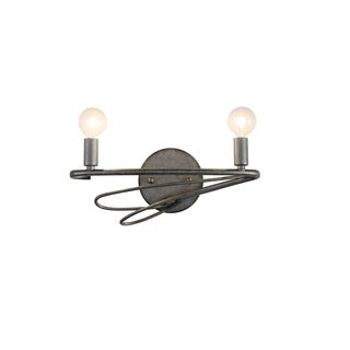 Varaluz Galaxia 2-light Silver Age Vanity and Sconce