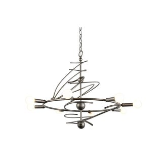 Varaluz Galaxia 8-light Silver Age Chandelier
