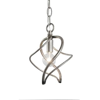 Varaluz Galaxia 1-light Silver Age Mini Pendant