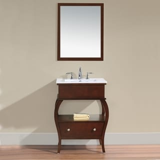Virtu 'Hilary' 26-inch Single Sink Bathroom Vanity