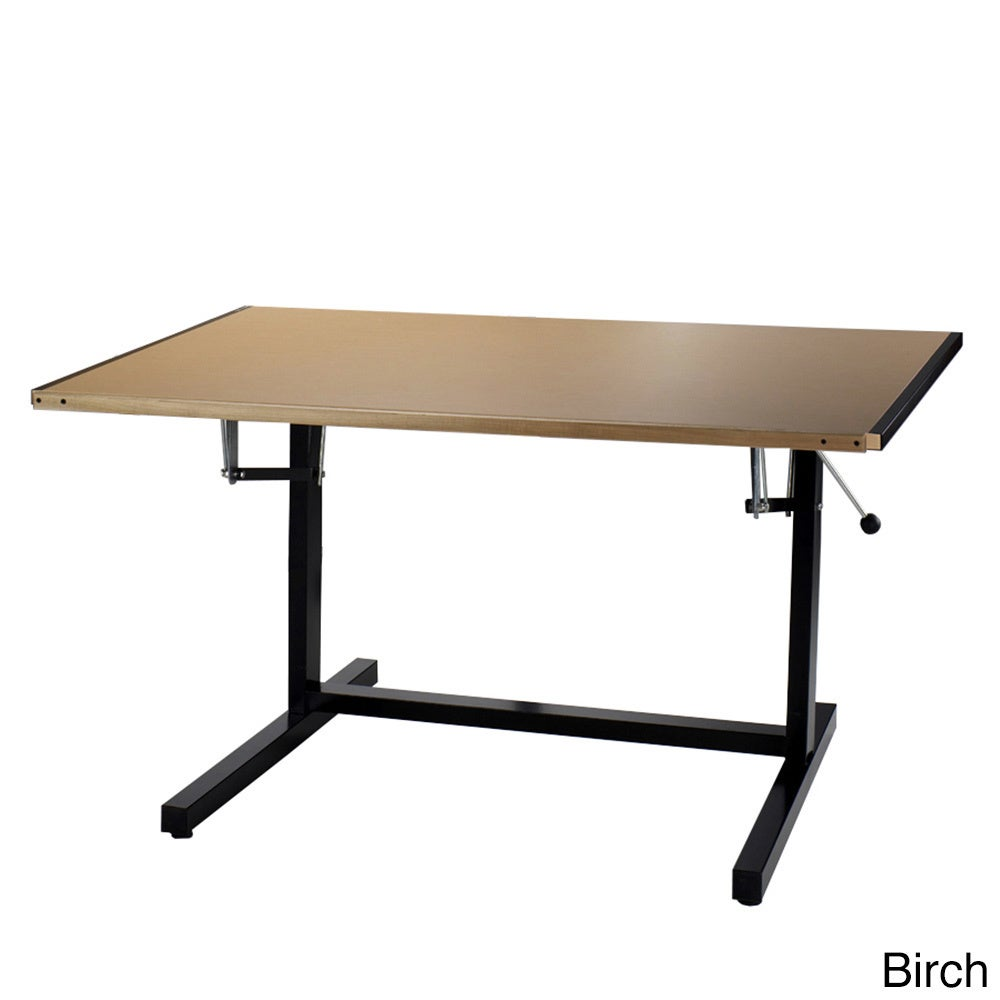 Mayline Dual Adjustable Drafting Table - Overstock ...