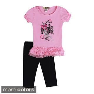 Girls Toddler Paris Two Piece Set