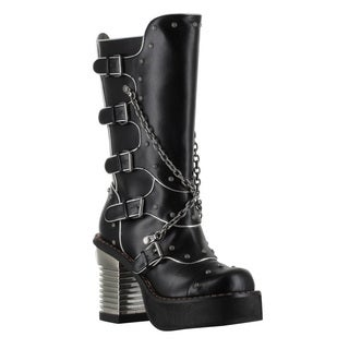 Hades Women's 'Motorhead' Knee-high Platform Boots