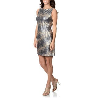 Muse Women's Allover Sequin Dress