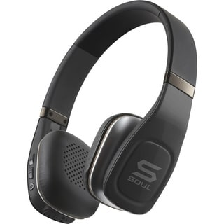 Soul SV3BLK Volt High-Definition Bluetooth Wireless Headphones with Mic