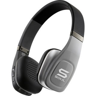 Soul SV3SLV  Volt Hi-Definition Bluetooth Wireless Headphones with Mic