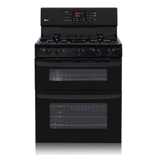 LG LDG3015SB 6.1 Cu. Ft. Capacity Freestanding Double Oven Gas Range
