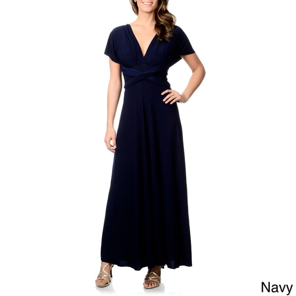 Dress convertible wrap cocktail gown bridesmaid multi way dresses one