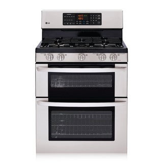 LG LDG3015ST 6.1 Cu. Ft Freestanding Double Oven Gas Range