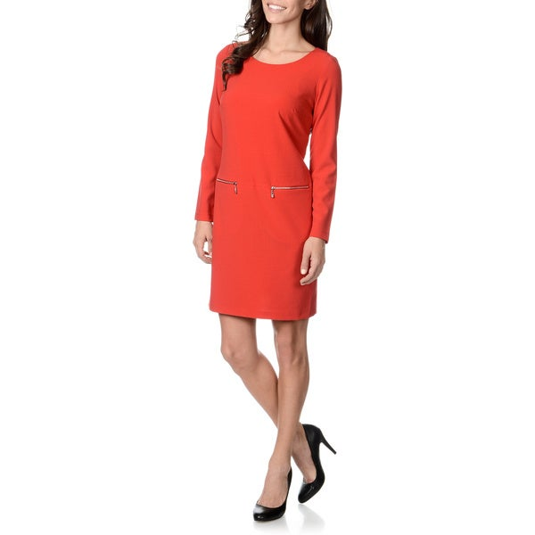 Lennie for Nina Leonard Women's Ponte Shift Dress