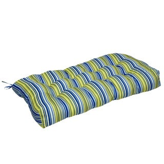 Vivid Stripe 42-inch Indoor Seat Cushion