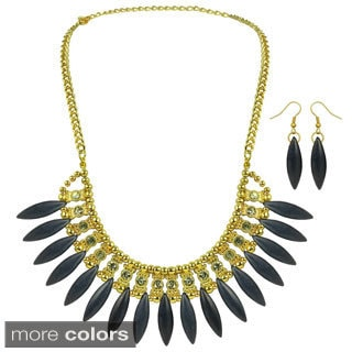 Kate Marie Fashion Chandelier Necklace and Earring Set