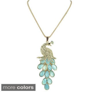 Kate Marie Peacock Fashion Necklace
