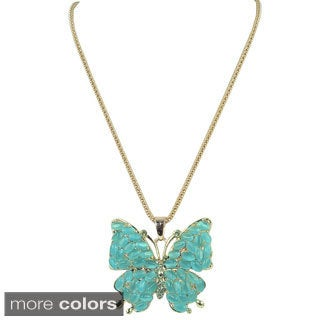 Kate Marie Butterfly Fashion Necklace
