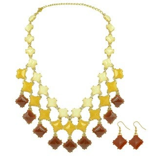 Kate Marie Native Bib Necklace and Earrings Set