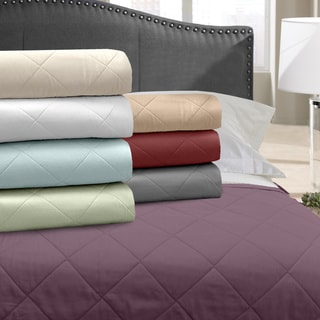 Grand Luxe 500 Thread Count Egyptian Cotton Blanket