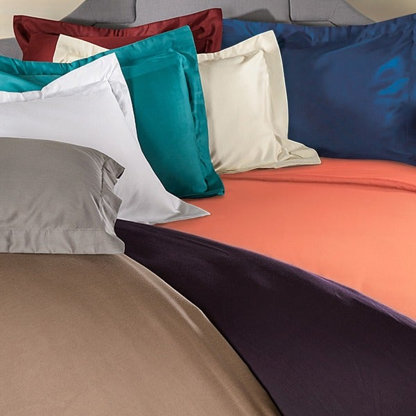 800 Thread Count Wrinkle Resistant 3-piece Duvet Cover Set