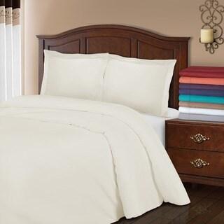 Superior 800 Thread Count Wrinkle Resistant Cotton Blend Duvet Cover Set
