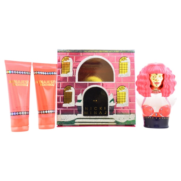 Nicki Minaj Minajesty Women's 3-piece Gift Set