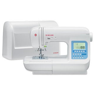 SINGER 9970 600-Stitch (1000+ Stitch Function) Computerized Sewing Machine with Extension Table, Bonus Accessories and Hard Cove