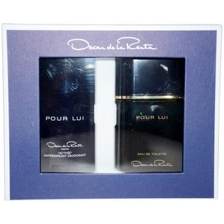 Oscar de la Renta Oscar Pour Lui Men's 2-piece Gift Set