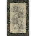 Hand-tufted Lawrence Multi Print Wool Rug (8' x 11')