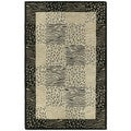 Hand-tufted Lawrence Multi Print Wool Rug (7'6 x 9')