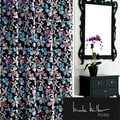 Nicole Miller Watermark Satin Shower Curtain