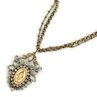 Sweet Romance Our Lady of Lourdes Necklace